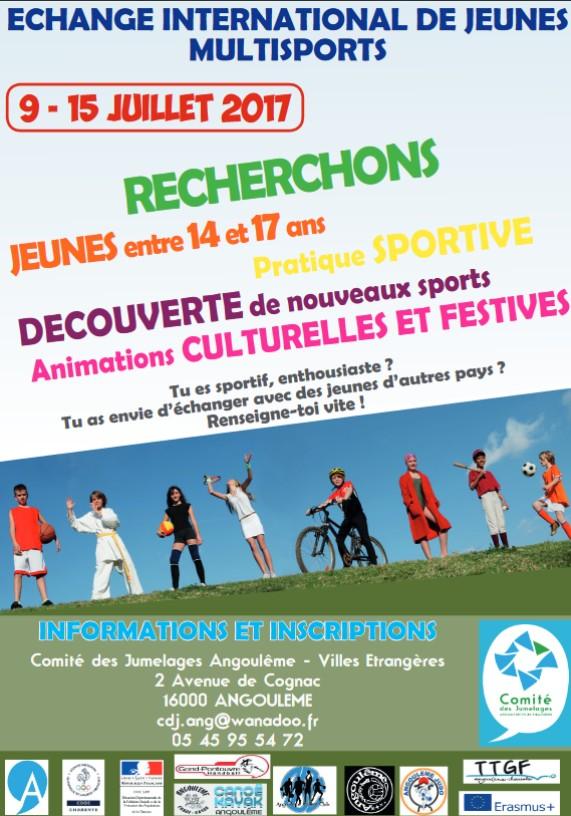 Echange international de jeunes multisports