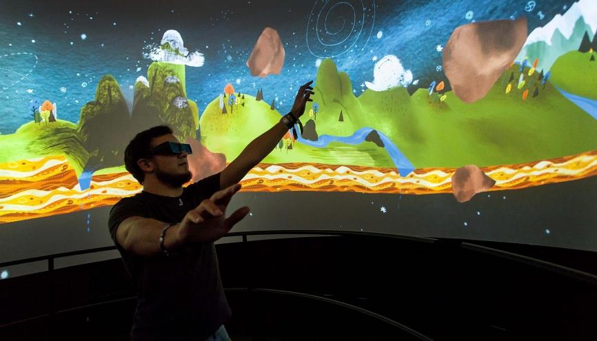 Visite de l'école de l'ENJMIN: école du jeu vidéo d'Angoulême