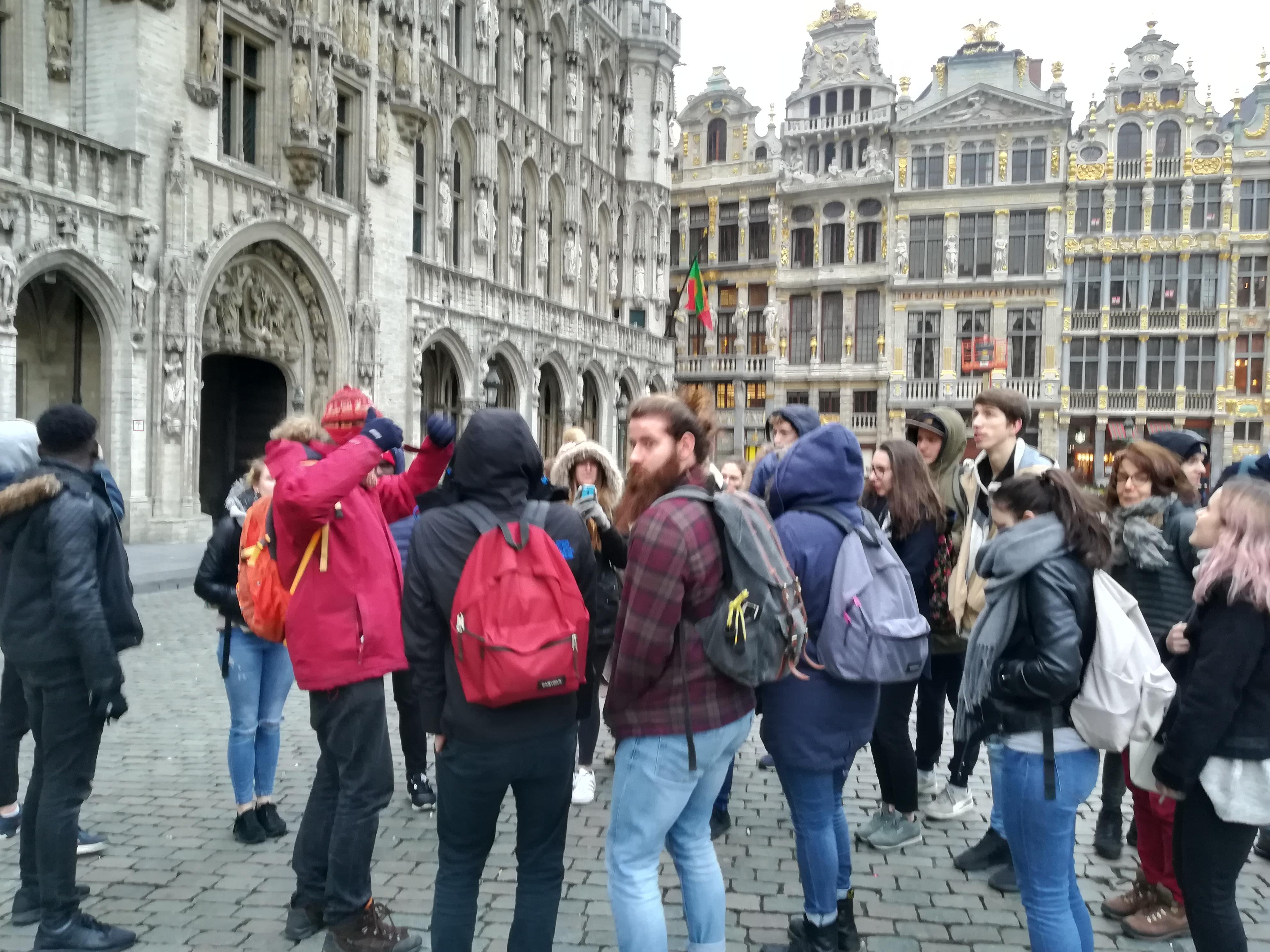 Premier jour à Bruxelles