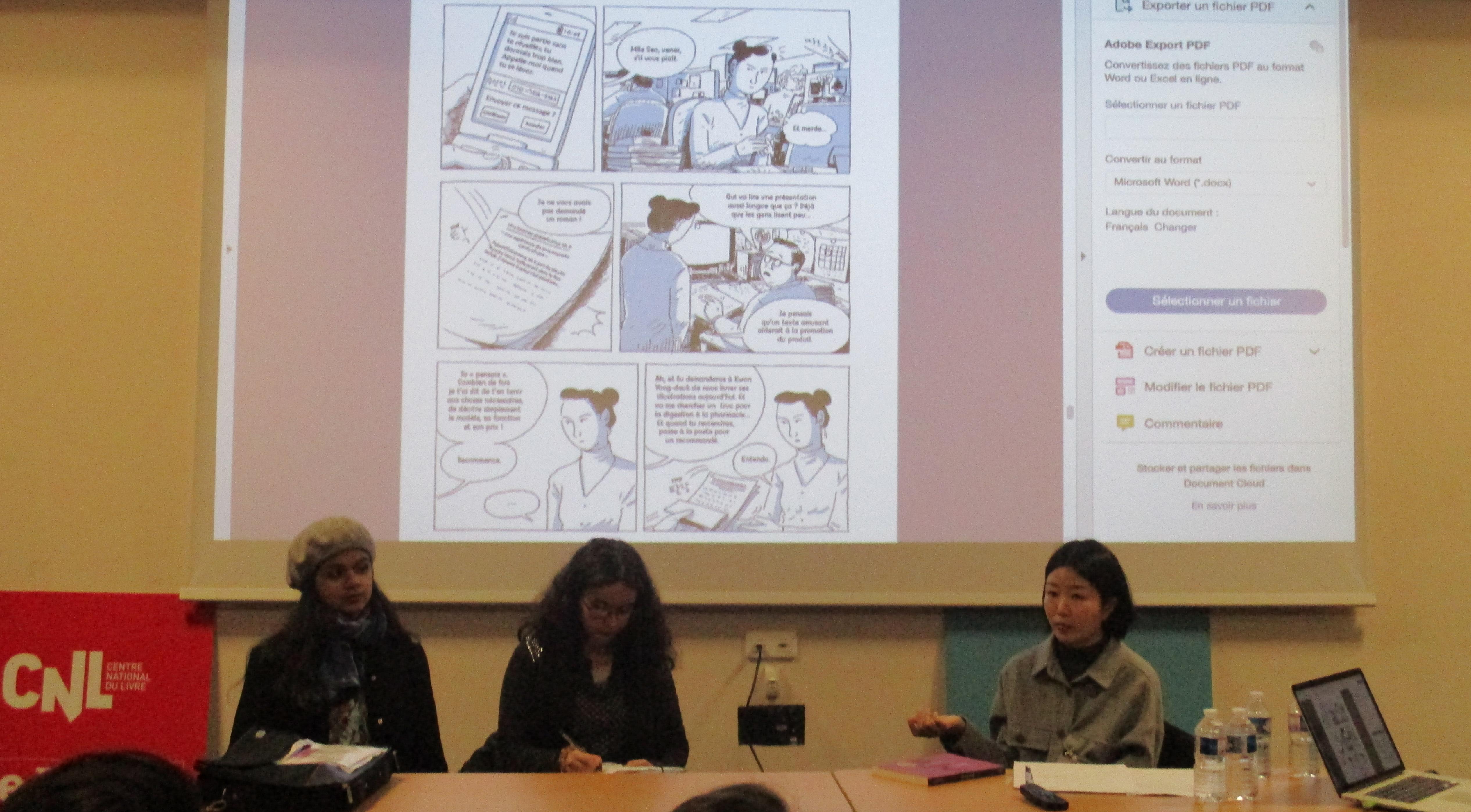 retour sur le FIBD 2019 : rencontre d'une auteure coréenne