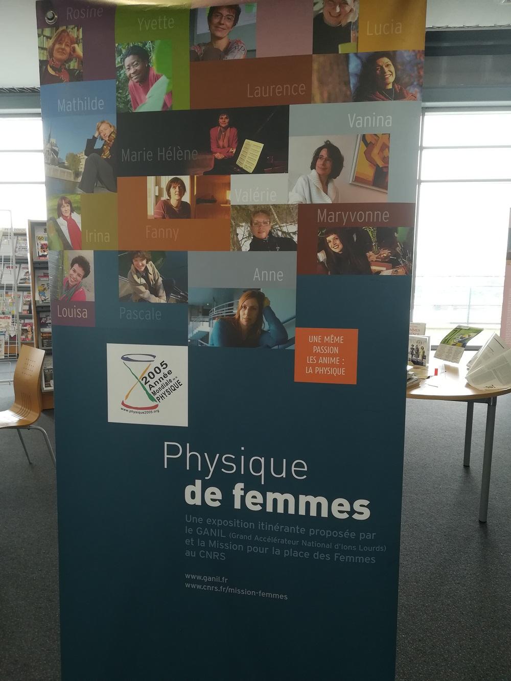 Expositions sur les femmes scientifiques à la médiathèque