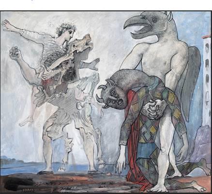 Représentations du Minotaure