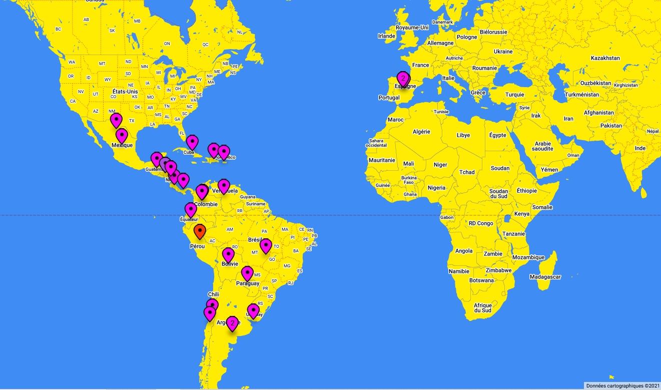 Musica latina del 2020-Musiques latines de 2020