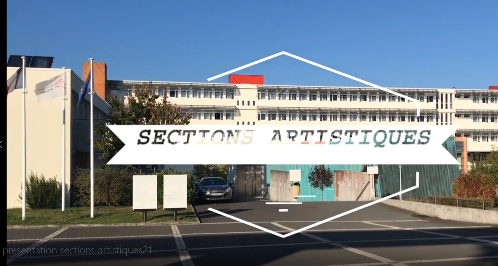 Sections artistiques