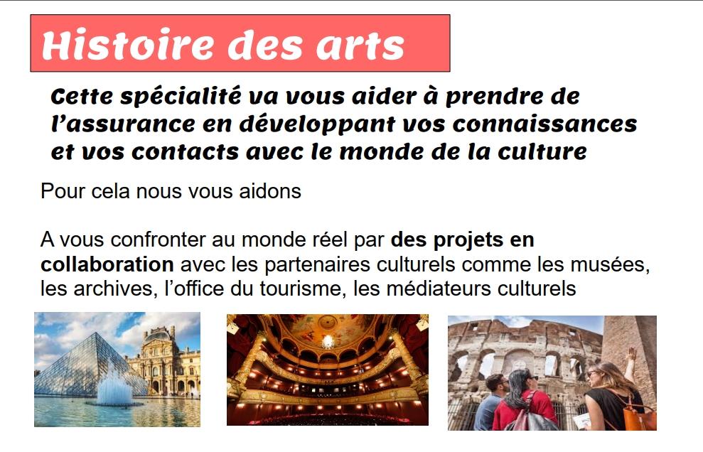 Présentation Histoire des Arts