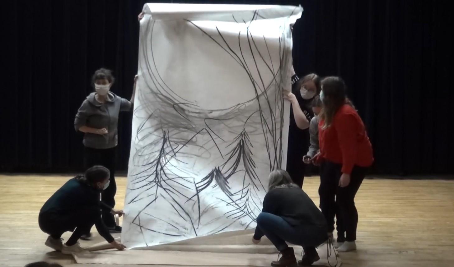 Danse et arts plastiques.  les films