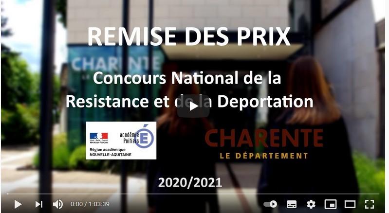 Film de la cérémonie officielle du CNRD
