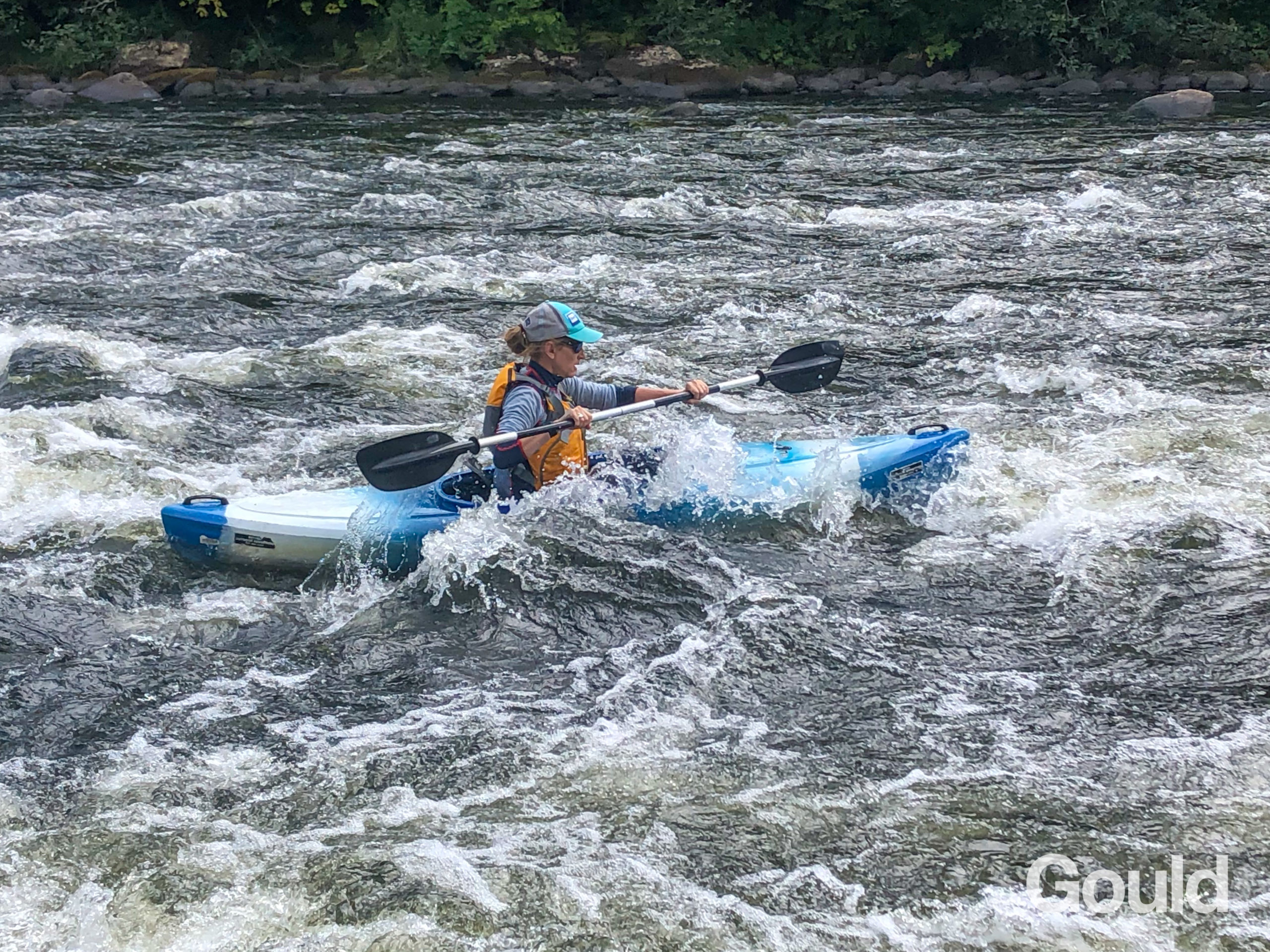 Gould News: 3 days in the wilderness (camping& canoeing edition)